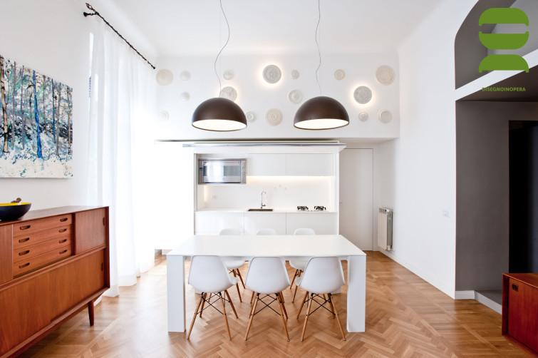 disegnoinopera - casa a due altezze