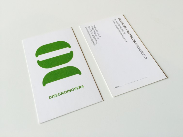 disegnoinopera visit card